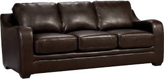 The Brick Leather Sofa Faux Leather Sofa A Must For A Large Space Pickndecor