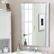 Chrome Bathroom Mirror Bathroom Decorative Chrome Framed Modern Bathroom Mirror Ideas