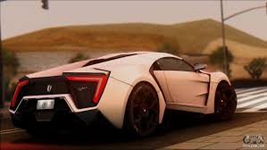 lykan hypersport price w motors lykan hypersport 2013 for gta san andreas