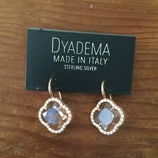 dyadema earrings 60 dyadema jewelry dyadema sterling silver gold clover