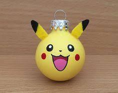 pikachu hanging felt ornament totoro studio ghibli gift