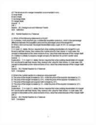 chapter 28 corporate finance 3e berk demarzo chapter 28 mergers