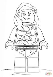coloring download poison ivy coloring page poison ivy coloring