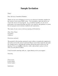 sample invitation letter for a conference acelink info
