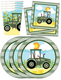 tractor supply wedding registry farm tractor time birthday party supplies set plates