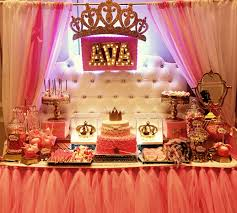 Baby Shower Candy Buffet Pictures by Princess Theme Baby Shower Candy Dessert Table Styled By Glam