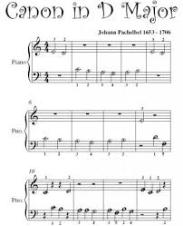 tutorial piano canon beginners piano sheet music canon in d pachelbel beginner piano