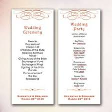 diy wedding program template diy wedding program template instant by cheapobride
