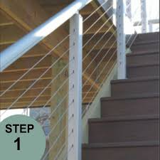 asd pre drilled stair posts the deck store online