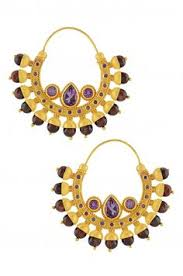 Buy Designer Gold Plated Golden Tanisha Necklace Gold Plated Faux Pearl Golden Bead Indiatrend For