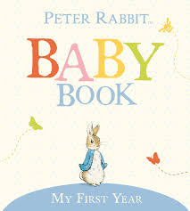 baby book my year rabbit baby book beatrix potter