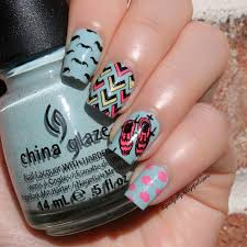 liquid jelly nail art let u0027s be hipster with moyou london