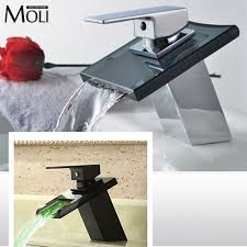 popular led tap bathroom buy cheap led tap bathroom lots from