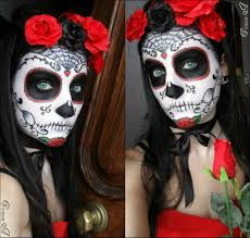 mexican halloween makeup mexican skull make up photo tutorial youtube