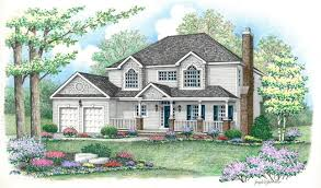Hip Roof House Designs 2 Story House Plans With Hip Roof Adhome