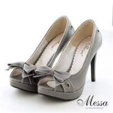 grey bridesmaid shoes david s bridal satin peep toe platform high heel with