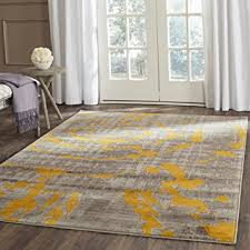 Gray And Yellow Rugs Amazon Com Safavieh Porcello Collection Prl7735c Light Grey And