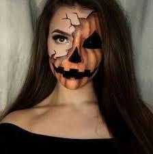 Pumpkin Halloween Costume The Best Halloween Makeup Inspiration Right Now Halloween