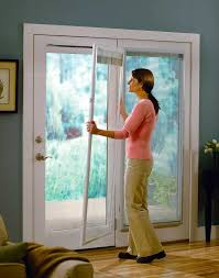 window coverings for sliding glass doors in kitchen roman shade on french door with stained glass french doors