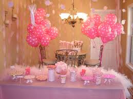 1st birthday party decorations at home pink 1st birthday party decorations fun food pinterest
