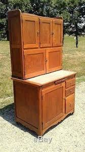 Antique Kitchen Cabinet With Flour Bin Antique 1900 Hoosier Oak Kitchen Cabinet With Sugar Bin Flour Sifter