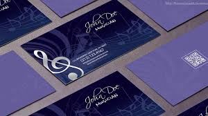free music business card templates 25 free psd business card