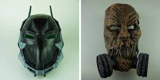 Scarecrow Mask These 3d Printed Batman Arkham Knight Masks Will Scare The Bejesus