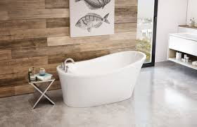 Bathtub Decoration Ideas Bathroom Freestanding Maax Bathtubs With Small Table And Wood