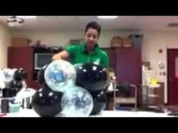 Balloon Centerpiece Ideas Easy Balloon Centerpiece Youtube