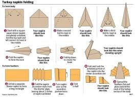 cool napkin folding trick helps dress up your thanksgiving table