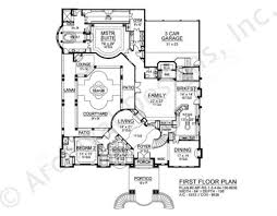 Floor Plans For A Mansion by Malmaison Mansion House Plans Luxury House Plans