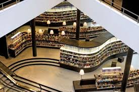 almere new library netherlands modern library design