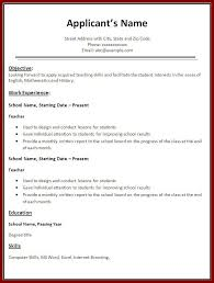 Company Resume Templates 11 Example Of Applicant In Company Resume Sendletters Info