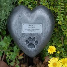 pet memorial paw print pet memorial grave marker