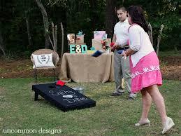 Backyard Bridal Shower Ideas Backyard Couples Wedding Shower Uncommon Designs