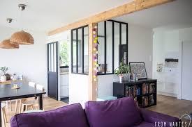 cuisine diy diy une verrière style atelier pas chère pour séparer cuisine et