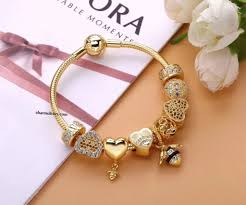 bracelet charms pandora jewelry images Pandora honey bee charms online sale new pandora gold honey bee jpg