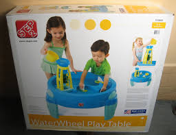 step2 waterwheel play table when toys rule the world toyologist review step 2 waterwheel play