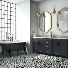 black and white tiled bathroom ideas white and black tile bathroom floor bartarin site