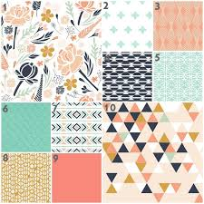 Coral And Mint Bedding Coral Baby Bedding Sets Tags Coral And Navy Baby Bedding Navy