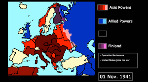 Europe 1939 Map by World War Ii In Europe 1939 1945 Every Month Youtube