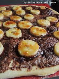jeux de cuisine de pizza au chocolat pizza sucree banane nutella les délices d hélène