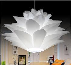 Lotus Chandelier Diy Lshade Iq Pp Pendant L Lotus Chandelier Suspension