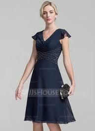 a linie v ausschnitt knielang spitze brautjungfernkleid p597 a linie princess linie u ausschnitt knielang chiffon kleid für die