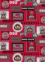 ohio state ribbon ohio state fabric store ohio state fleece fabric ohio state