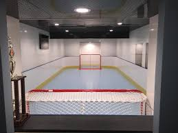 Backyard Rink Liner by D1 Photo Gallery Basement Hockey Rink Backyard Rink