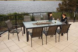 Outdoor Patio Furniture Dining Sets - chair furniture patiore dining sets the home depot black setspatio