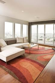 tropical area rugs family room contemporary with area rug balcony