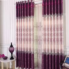 Pink And Purple Curtains Fancy And Fashion Modern Curtains Designs In Purple