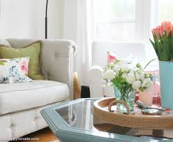 simplicity home decor seasonal simplicity spring home tour the happy housie